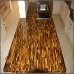 Tigers Eye Kitchen Counter